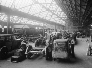 [運営管理]工場の設備レイアウトと代表的な生産方式